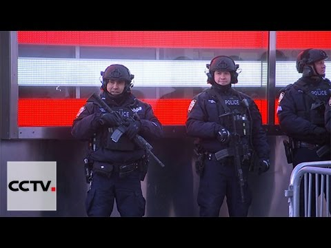 Extra security precautions for New Year in German large cities