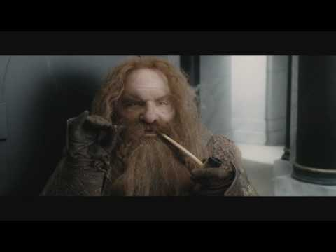 Gimli funny moments - The Lord of the Rings: The Return of the King (Theatrical edition)