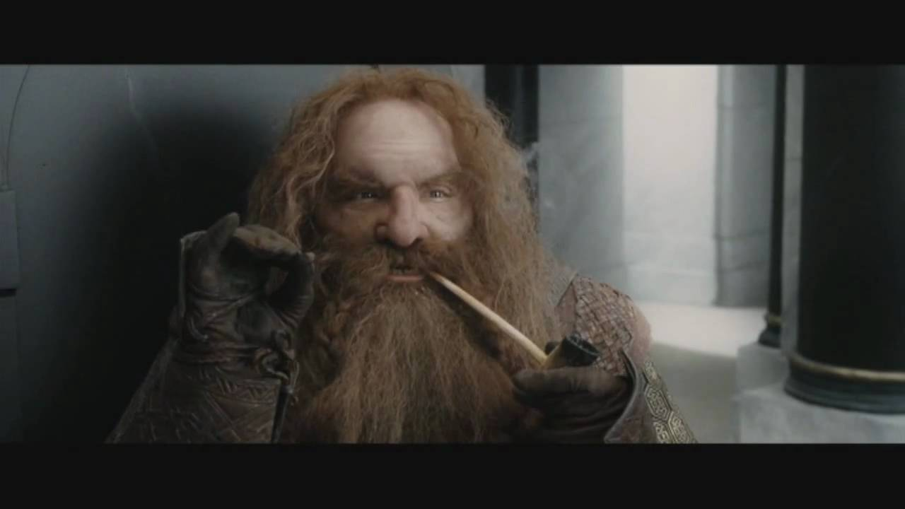 Gimli Funny Moments   The Lord Of The Rings: The Return Of The King  (Theatrical Edition)   YouTube