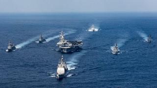 North Korea nuclear missile tests: US Navy strike group moves towards Korean peninsula