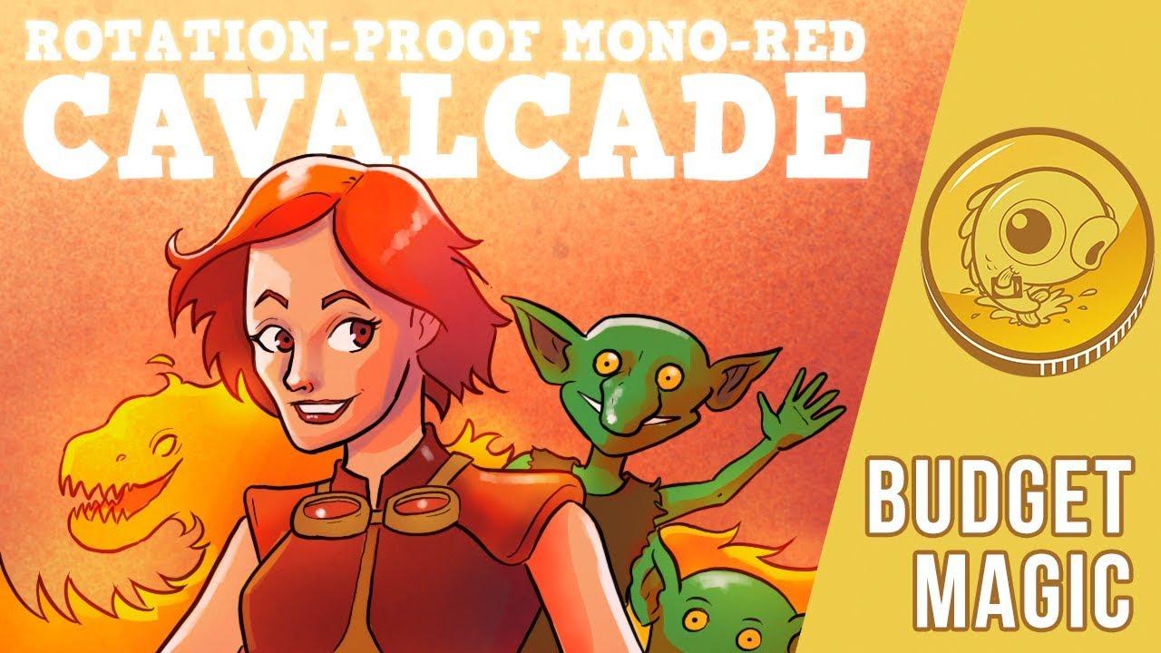 Budget Magic: $71 Rotation-Proof Mono-Red Cavalcade
