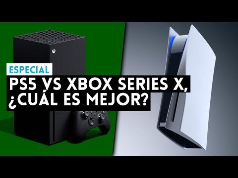 PS5 vs XBOX SERIES X ¿CUÁL es MEJOR? Comparamos potencia, juegos, mando, menús, almacenamiento...
