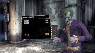 Batman Arkham Asylum: Joker Gameplay 1 - Maximum Punishment - [HD]