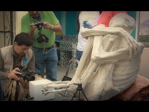 Entrevista a Jois Mantilla: Momias de Nazca