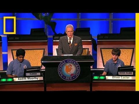 Geographic Bee 2010: Winning Question  National Geographic Bee 2010