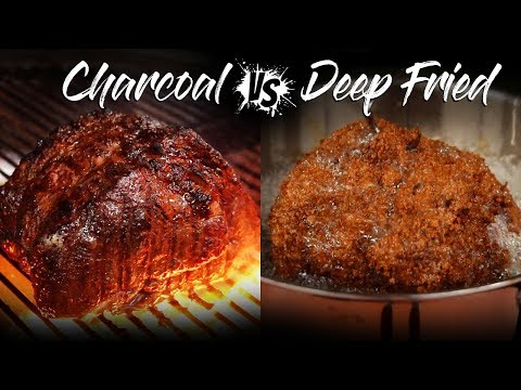 WAGYU Prime Rib, GRILLED vs DEEP FRIED!