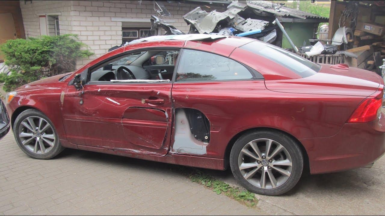 Volvo cabrio. Body repair. Ремонт кузова.