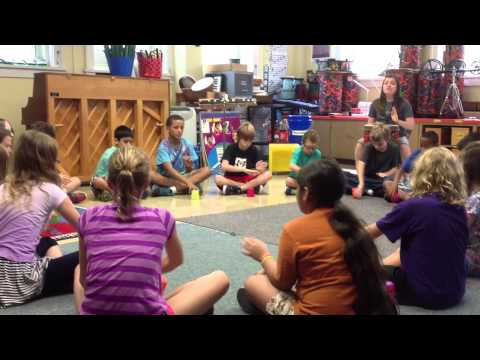 Friday Fifth Grade Music Class