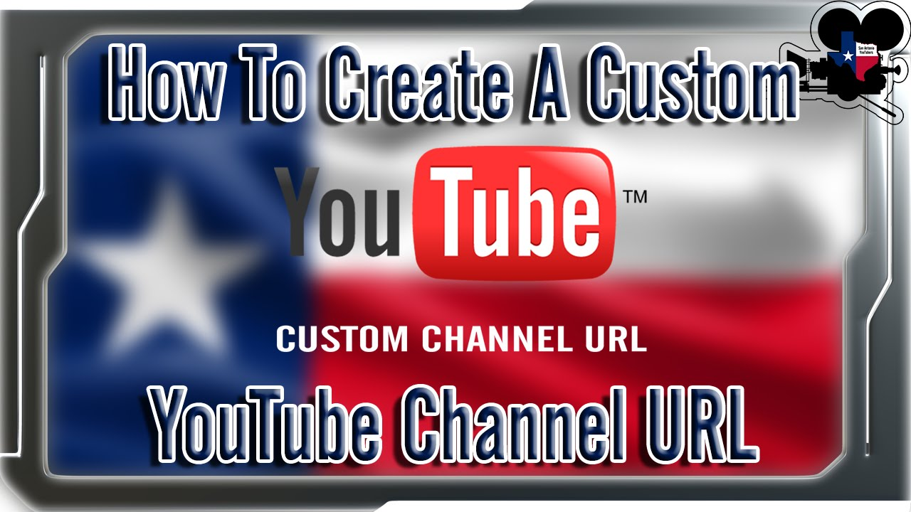 How To Create A Custom YouTube Channel URL / Link (2014)