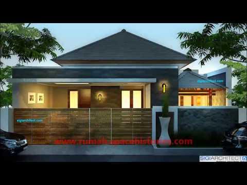Gambar Rumah Mewah 1 Lantai Desain Terbaik
