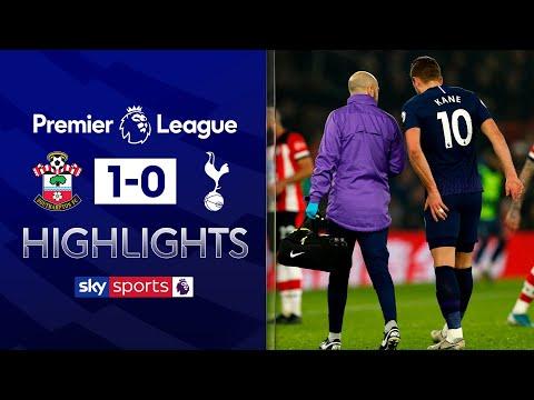 Kane off injured as Southampton shock Spurs | Southampton 1-0 Tottenham | Premier League Highlights