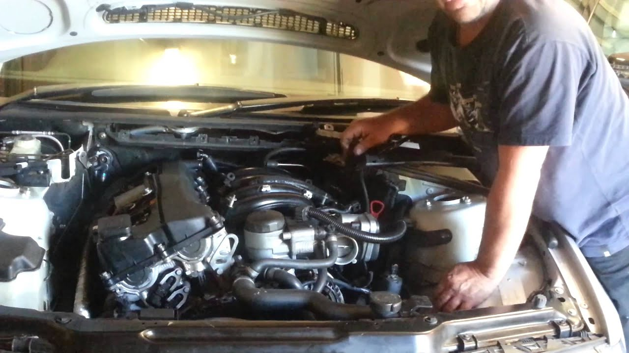 Replace Oil Separator On Bmw E46 N42 Motor 318i 2003 Part