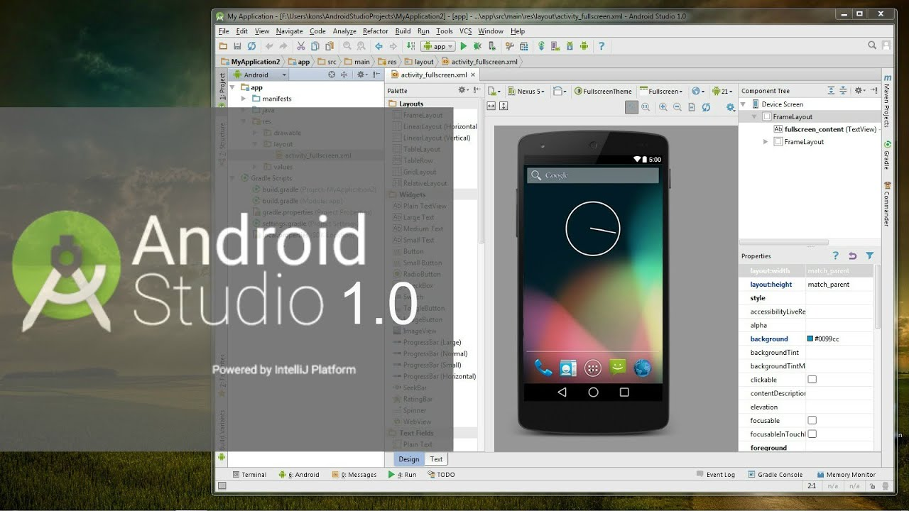 How To Install Android Studio 1.0 on PC - YouTube