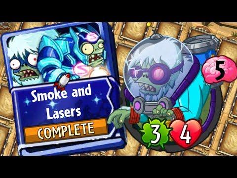 Plants vs Zombies Heroes - Brain Freeze Strategy Deck - Smoke and Lasers - Cryo Yeti