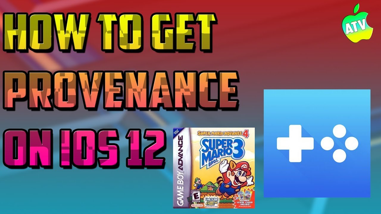 (EPIC MULTI EMULATOR ON IOS 12)HOW TO GET PROVENANCE ON IOS 12/HOW TO PLAY  NINTENDO GAMES ON IOS 12
