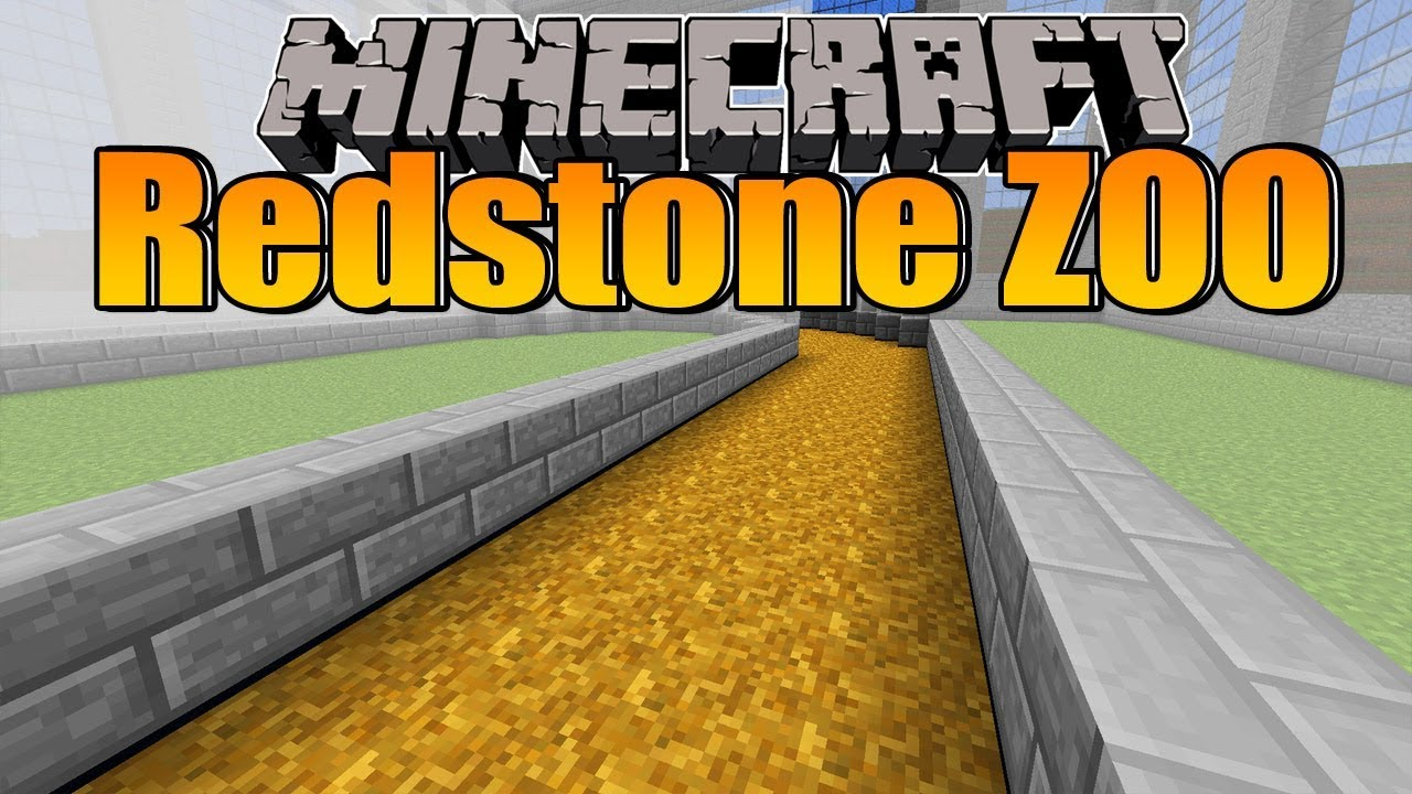 Das Vogelhaus Wird Angefangen Minecraft Redstone Zoo YouTube - Minecraft redstone hauser bauen
