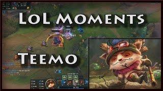 LoL Moments - FUNNY - Satanic Teemo FHD (League Of Legends)