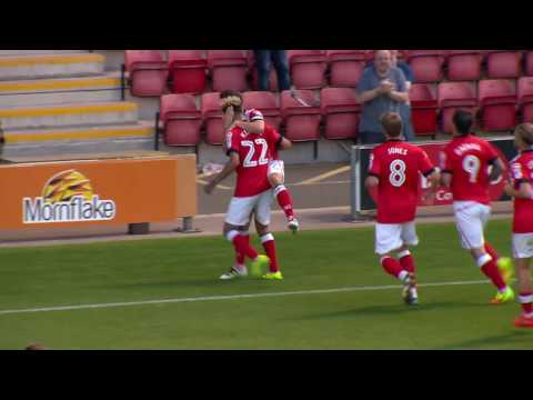 Crewe Alexandra 3-3 Hartlepool United: Sky Bet League Two Highlights 2016/17 Season