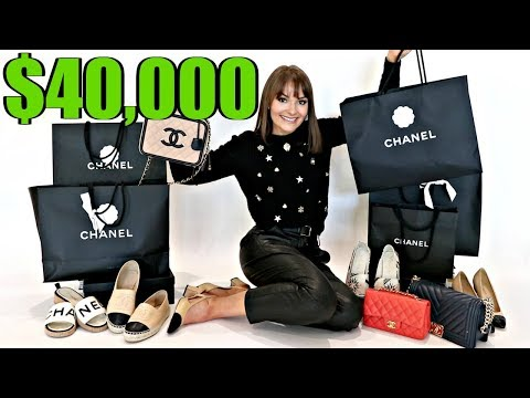 My Entire $40000 Chanel Collection 2020 *Bags, Shoes, RTW & MORE