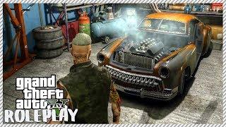 GTA 5 ROLEPLAY - Rusty Old Junkyard Car Restoration | Ep. 10 Civ