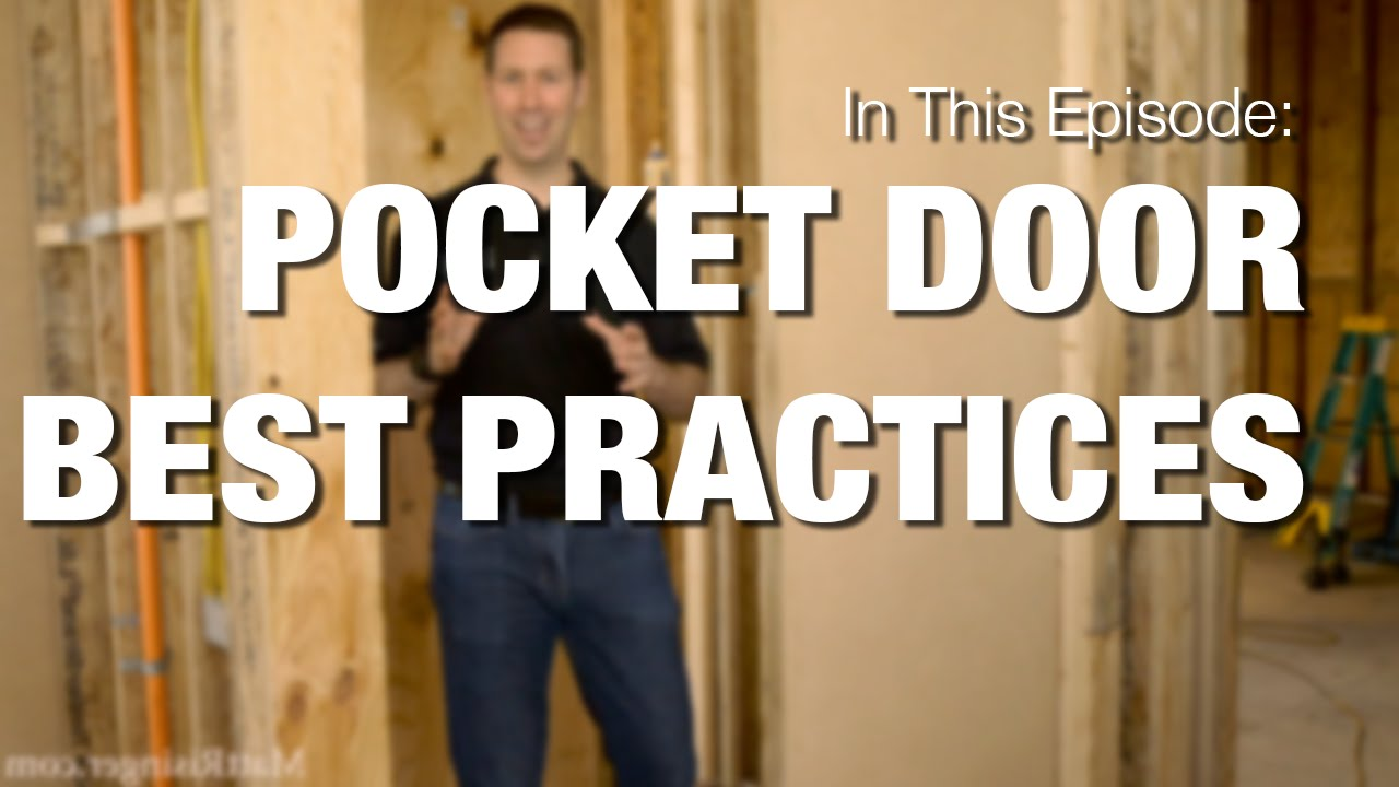 Pocket Doors How To Youtube