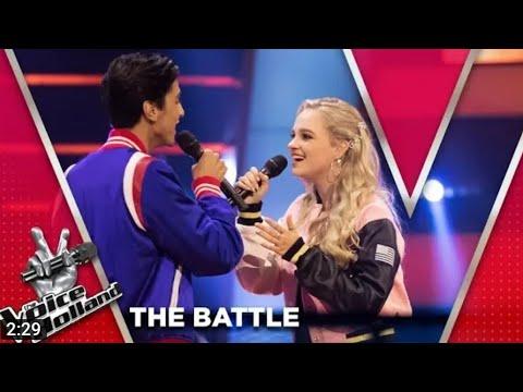 Ayoub vs. Kes - Menak Wla Med/Verleden Tijd  I The Battle I The voice of Holl
