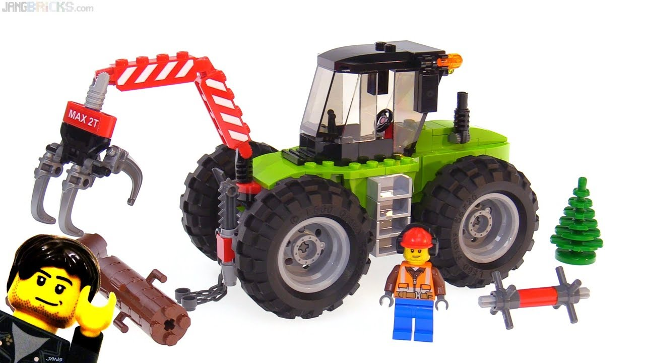 Lego city 2018 forest tractor review 60181 youtube - Image lego city ...