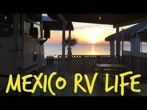 Tour of Victor's RV Park in San Felipe BC, Mexico