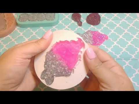 Demolding Epoxy Resin Pieces~ASMR