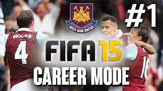 Video Fifa 15 CAREER MODE Gameplay Walkthrough Part 1 - WEST HAM - Let's Play Playthrough download MP3, 3GP, MP4, WEBM, AVI, FLV Desember 2017