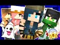 HAUNTED TOWN IN MINECRAFT! BEWARE OF THE WITCH! (Minecraft Adventures)