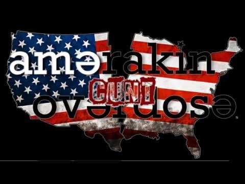 AMERAKIN OVERDOSE - C.U.N.T - Lyric Video ( Spring Teaser 2015 Demo)