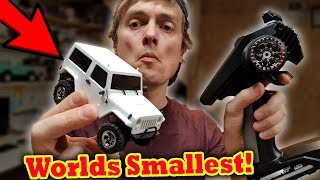 Worlds Smallest 4x4 Scale RC Crawler Car