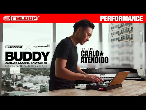 Reloop Buddy Compact 2-Deck djay Controller for all platforms feat. DJ Carlo Atendido (Performance)
