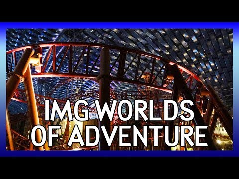 IMG Worlds of Adventure | World's largest indoor theme park in Dubai