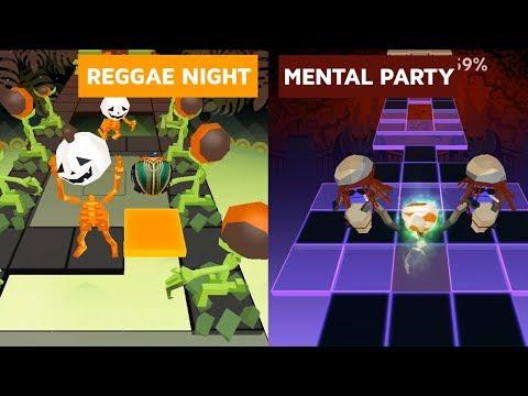 Rolling Sky - Reggae Nights & Mental Parties (Re-Skinned Versions) | SHAvibe