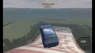 Crashday Mini-Event Weitsprung PC Gameplay HD