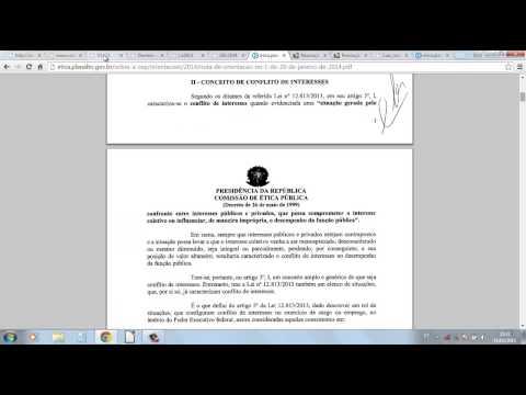 COMISSÃO DE ÉTICA PÚBLICA- Aula I