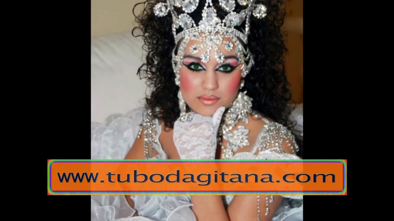 Vestidos novia gitana saray