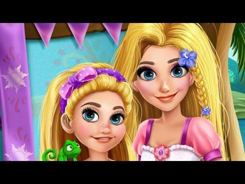 Disney Принцесса Игры—Рапунцель Мамочка Спа макияж—Мультик Онлайн Видео Игры Для Детей 2015