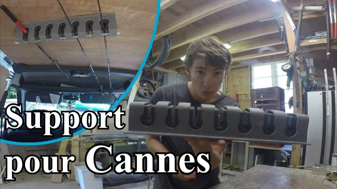 truc et astuces n 28 fabriquer un support de cannes pour voitures float tubes murs