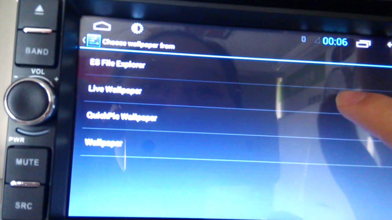 Wallpaper Changing For Android Car Dvd Gps Youtube
