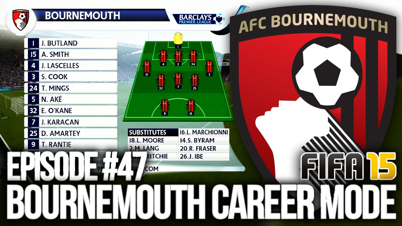 Fifa 15 Bournemouth Career Mode 47 My New Tactic Youtube