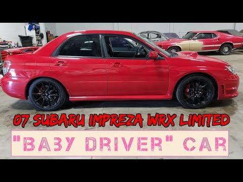 """Baby Driver"" 2007 Subaru Impreza WRX Limited FEATURETTE"
