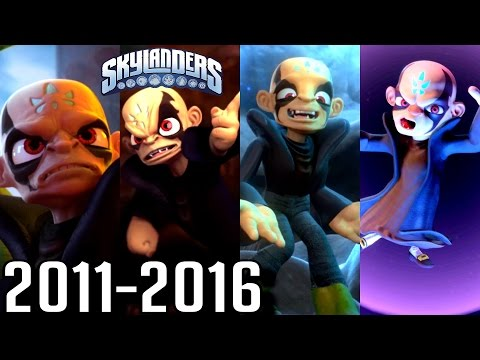 Skylanders ALL ENDINGS 2011-2016 (PS4, Wii U, Xbox)