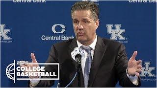John Calipari jokes that he deserves the credit for Kentucky's success | College Basketball Sound