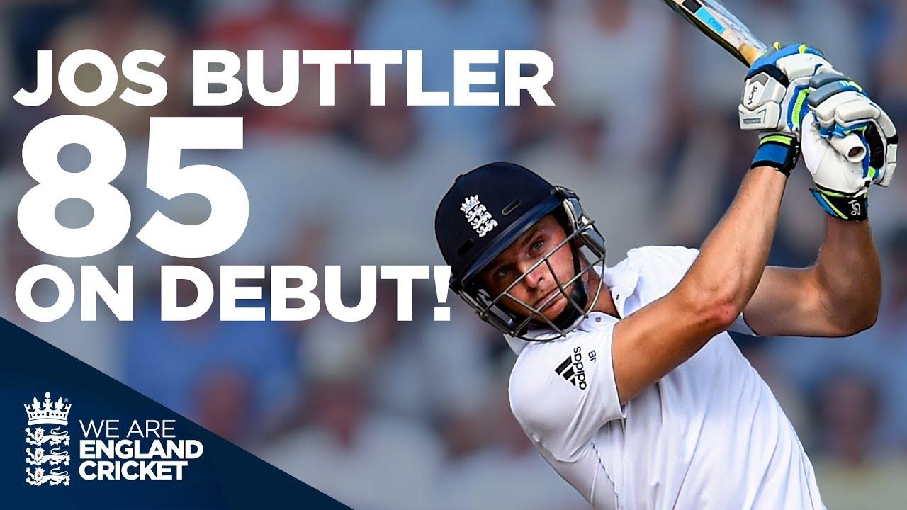Jos Buttler SMASHES 85 on Test Debut!   England v India Rewind!   England Cricket