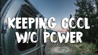 How To Keep Cool While Boondocking Cing in an RV Without Electricity in the Heat of Summer