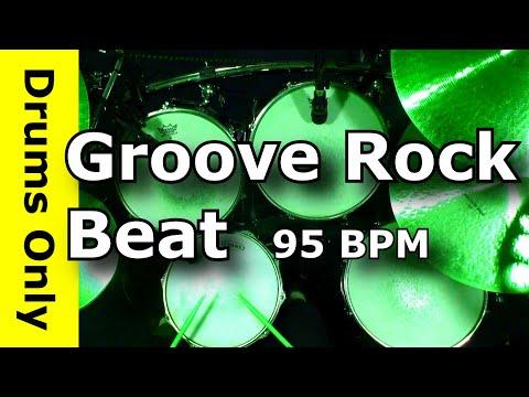 Backing Track - Groove Rock Drum Beat 95 BPM - JimDooley.net