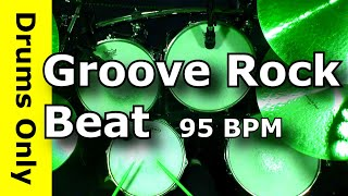 Backing Track - Groove Rock Drum Beat 95 BPM - JimDooley.net